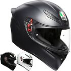 AGV K-1 Solid Mens Street Riding DOT Cruising Road Racing Motorcycle Helmets