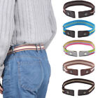No Buckle Uckle-Free Elastic Strap  Jean Pants Clothes Stretch Waist Belt