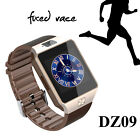 SmartWatch Mobile Phone Unlocked Sim Support GSM BLE4.0 Music Player Camera DZ09