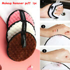 Useful Makeup Removal Puff Reusable Face Cleaner Plush Towel Magical Tools
