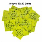 NEW  Fluorescent yellow-green Retro Reflective Target  FOR total station