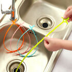 5Pcs Kitchen Plastic Drain Stick Hair & Clog Remover Cleaning Tool for Sink Affd