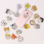 Cute Cartoon Animal Cat Dog Cell Phone Finger Ring Stand Holder Acrylic Alloy
