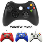 USB Wired Wireless Game Controller Gamepad Joystick for Microsoft Xbox 360 & PC