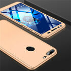 360° Full Cover Case + Tempered Glass For Huawei Honor 8A 8X 7X 8 9 10 Lite Play