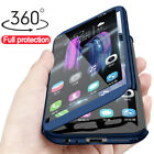 360° Full Cover Case + Tempered Glass For Huawei Honor 8A 8X 8 9 10 20 Lite Play