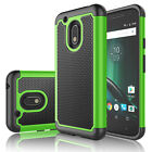 For Motorola Moto G4 Play/XT1607 Case Cover With Tempered Glass Screen Protector