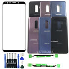 Front Screen Lens Back Battery Cover Glass For Samsung Galaxy S9 G960 Plus G965