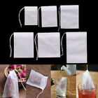 100Pcs Non-woven Empty Teabags String Heat Seal Filter Paper Herb Tea Bags V!