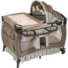 Baby Trend Deluxe Nursery Center Playard Play Pen Basinet Changing Table Bed NEW