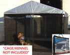 Big Dog Kennel Cage Wind Screen Extra Large Outdoor Heavy Duty Portable NEW