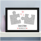 Personalised Gift for Her Girlfriend Wife Puzzle Print Him Boyfriend Anniversary