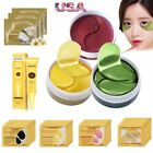 Crystal Gold Collagen Under Eye Patches Eye Cream Anti Wrinkles Dark Circle USA $7.89 USD on eBay