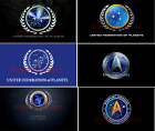 Star Trek United Federation of Planets Free Shipping Flag Size 3X5FT 90x150 on eBay