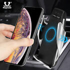 Smart Automatic Clamping Wireless Car Charger Mount For iPhone Samsung 2019 US