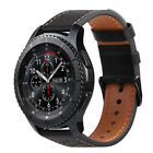 For Samsung Galaxy Watch 46mm / Gear S3 Frontier / Classic Genuine Leather Band image