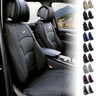 Luxury Leather Seat Cushion Covers Front Bucket Pair 11 Color Options $119.99 USD on eBay