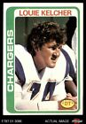 1978 Topps #360 Louie Kelcher Chargers EX/MT $1.3 USD on eBay