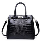 Crocodile Pattern Handbags Fashion Large Capacity Women Shoulder Bag Big Totes