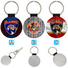 Florida Panthers Sporty Leather Glitter Key Chain Car Keyring Ring $3.99 USD on eBay