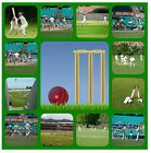 CRICKET - SOUVENIR NOVELTY COASTERS - EASY CLEAN - BRAND NEW / SPORT / GIFTS