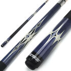 58-inch 2-Piece Canadian Maple Wood Billiard Pool Cue Stick (Blue, 18 - 21 Oz) $37.99 USD on eBay