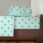 Retro Vichy Cotton Sateen Sheet Set by Roostery