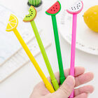 0.38mm Cute Cartoon Fruit Pattern Gel Pen Student Writing Pen Office Supplies