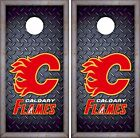 Calgary Flames Cornhole Skin Wrap NHL Hockey Luxury Decal Vinyl Sticker DR408 $39.99 USD on eBay