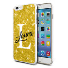 Personalised Marble Phone Case Cover for Apple Samsung Initial Text Name - J28