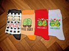 Valentine's Day Cute Cosy Socks. Avo cuddle, Free Hugs, I Loaf You So Much.