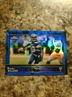Russell Wison 2015 Topps chrome blue refractor /199 Seahawks !!!