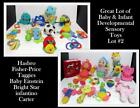 Baby Infant Toy Large Lot of Developmental & Sensory Toys Infantino Fisher Price