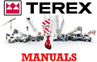 Terex T300-1 Cranes Waverly Operations Parts Manual on CD