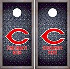 Cincinnati Reds Cornhole Skin Wrap MLB Baseball Luxury Decal Vinyl Sticker DR439 on Ebay