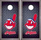 Cleveland Indians Cornhole Skin Wrap Baseball Luxury Decal Vinyl Sticker DR440 on Ebay
