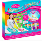 Girls Magical Mermaid Nail Manicure Polish Set for 3 gift favor DIY