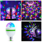 E27 RGB Crystal Ball Auto Sound Rotating LED Stage Light Bulb Disco Party Lamp