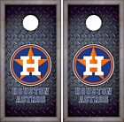 Houston Astros Cornhole Skin Wrap MLB Baseball Luxury Decal Vinyl Sticker DR443 on Ebay
