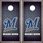 Milwaukee Brewers Cornhole Skin Wrap MLB Luxury Decal Vinyl Sticker DR447 on Ebay