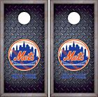 New York Mets Cornhole Skin Wrap MLB Baseball Luxury Decal Vinyl Sticker DR449 on Ebay