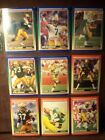 """SCORE /1990 FOOTBALL CARD"""" GREEN BAYPACKERS"""" 17 CARDS MINT CONDITION"""