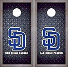 San Diego Padres Cornhole Skin Wrap MLB Luxury Decal Vinyl Sticker DR454 on Ebay