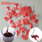 clip Bloodworm Bait Granulator Red Fish Tackle Rubber Bands Fishing Accessories