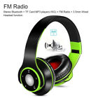 4 in 1 BT4.0 Foldable Wireless Stereo Music Headphones Over-ear TF FM Radio S0O2