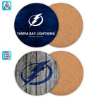 Tampa Bay Lightning Wood Coffee Cup Mat Mug Pad Tea Coaster Drink $3.49 USD on eBay