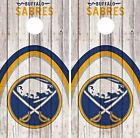 Buffalo Sabres Cornhole Skin Wrap  NHL Game Decal Vinyl Sticker Logo DR469 $39.99 USD on eBay