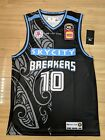 Tom Abercrombie 2018-19 New Zeakand Breakers Official First Ever NBL Jersey