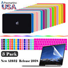 Kyпить 2018 For Macbook Air 13 Inch Matte Hard Case & Keyboard & Screen Protector A1932 на еВаy.соm