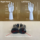 1 Pair Male Display Holder Mannequin Hand Jewelry Ring Bracelet Stand Rack